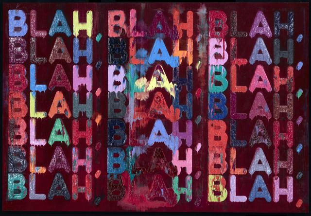 Mel Bochner, 'Blah, Blah, Blah', 2013, Simon Lee Gallery