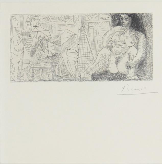 , 'Le Peintre et son Modéle,' 1963, Fólio Livraria