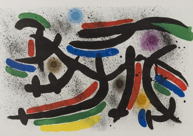 Joan Miró, 'Lithographe I (Cramer 160)', 1972, Forum Auctions