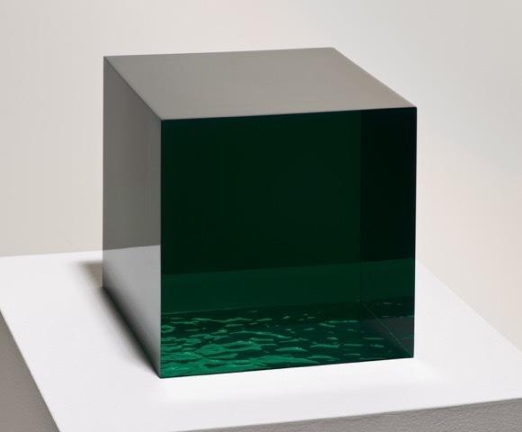 , '11/3/14 (GREEN WAVE),' 2014, Peter Blake Gallery