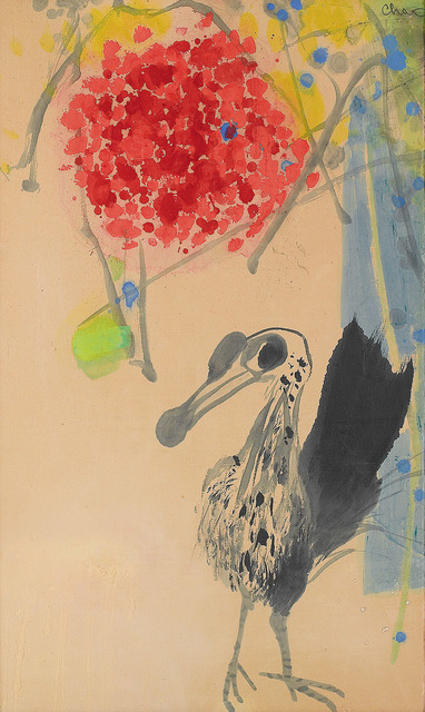 , 'Bird and Flowers,' 1968, Alisan Fine Arts