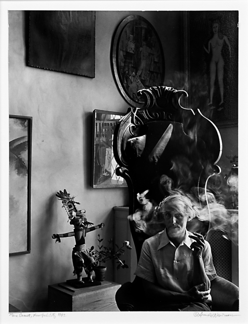 Arnold Newman, 'Max Ernst, New York City', 1942, Rago/Wright