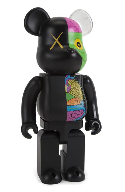 KAWS, 'Dissected Companion: 400% Bearbrick (Black)', 2010, Julien's Auctions