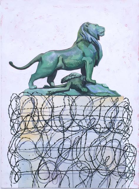 Thomas John Carlson, 'French Lion', 2018, Deep Space Gallery