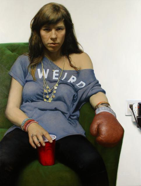 , 'Red Corner,' 2017, Galerie Olivier Waltman | Waltman Ortega Fine Art