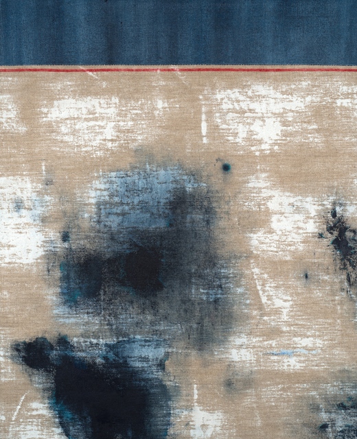 , 'Untiitled (Red Selvedge, Top Seam),' 2017, Alfa Gallery