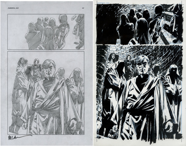 , 'DAREDEVIL (2009) #500 pg 400 Murdoch Leads The Hand (final page),' 2009, Gallery 30 South