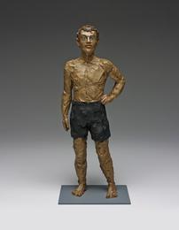 Stephan Balkenhol, 'Mann mit kurzer Hose (Man with short pants),' , Phillips: New Now (December 2016)
