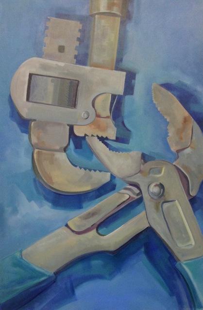 , 'Stillson Lock,' 2017, Canal Street Art Gallery