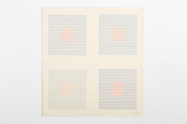 , 'Typecode (Tav. 5),' 1978, Richard Saltoun