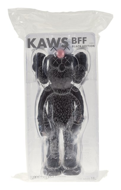 KAWS, 'BFF Companion (Black)', 2017, Sculpture, Painted cast vinyl, Heritage Auctions