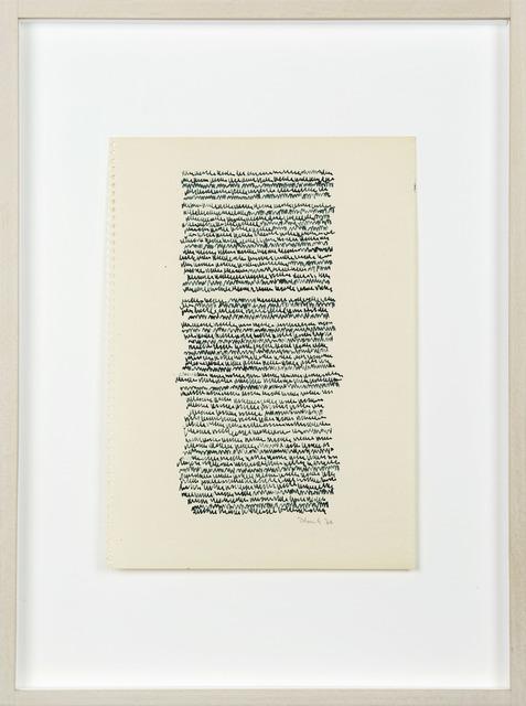 , 'Eigenschriften,' 1970, P420