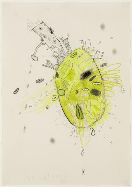 , 'Green Planet (3/10/97),' 1997, David Nolan Gallery