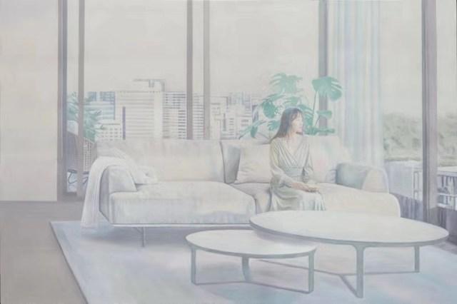 Tamen 他们, 'White Scarf', 2019, Yang Gallery