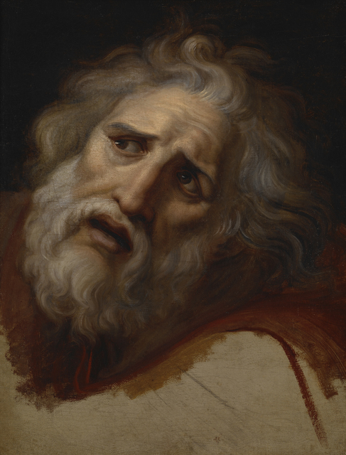 Andrea Appiani, 'Head of Laocoön', ca. 1790, Indianapolis Museum of Art at Newfields