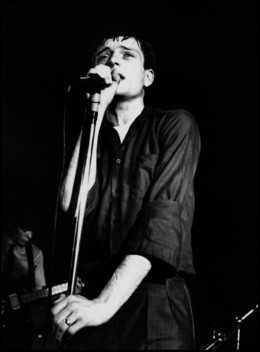 Kevin Cummins, '8. Ian Curtis, Joy Division, The Factory Hulme, Manchester', 2006, Paul Stolper Gallery