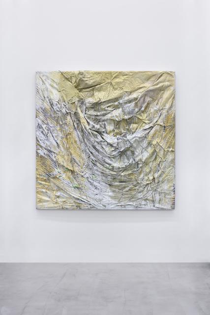 , 'Paysage doré de Novogrod - hommage à Andriej Rublow,' 2014, Galerie Christophe Gaillard