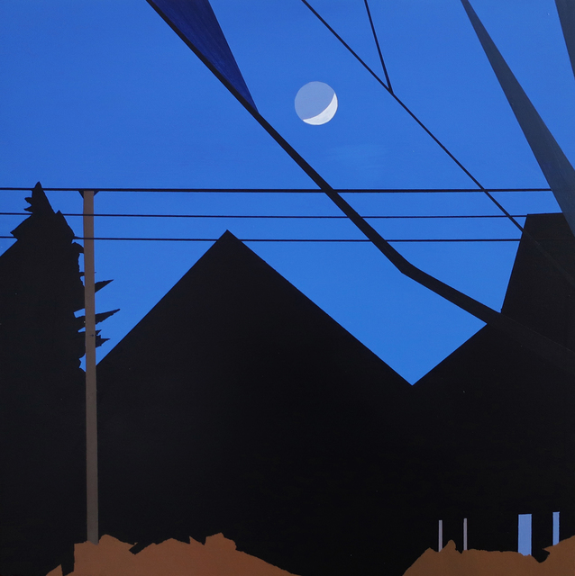 , 'Moon Over the Neighbor's Barn,' 2018, Octavia Art Gallery