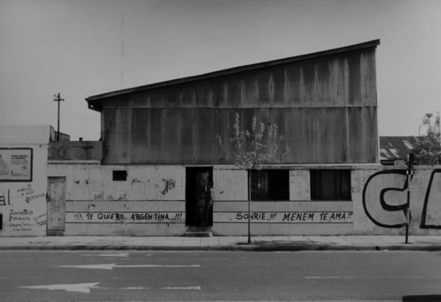 ", 'From the series ""Estampas Porteñas"", ""Sheet metal shed"",' 1988, Rolf Art"