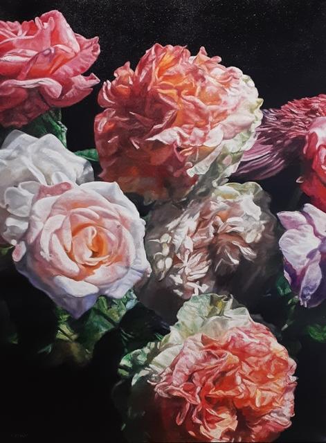 robert lemay, 'Garden Flowers', 2019, The Front Gallery