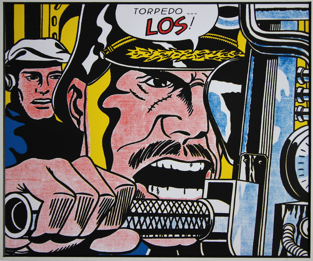 "Roy Lichtenstein, '""Torpedo Los"" for Art Basel', 1987, EHC Fine Art Gallery Auction"