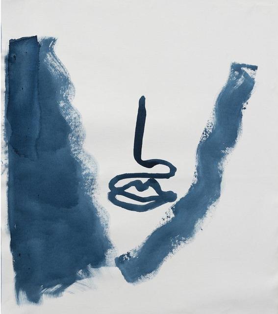 , 'boca azul sin ojos,' 2015, Otero