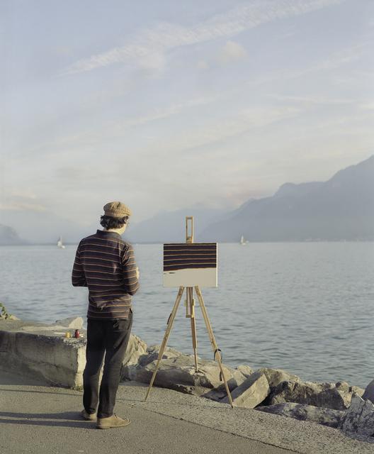 , 'Am Genfer See,' 2014, Niklas Schechinger Fine Art.
