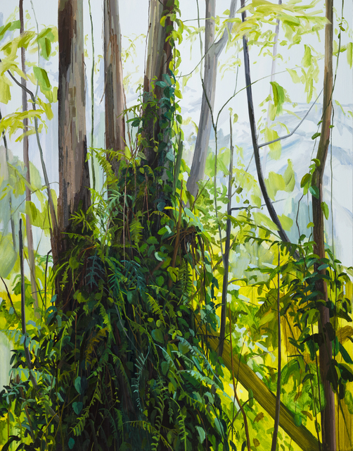 , 'Trees and Ferns,' 2019, DC Moore Gallery
