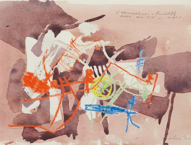 Afro (Afro Basaldella), 'Untitled', 1955, Phillips