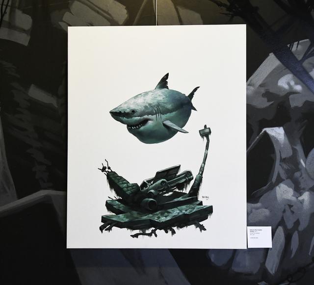 , 'Sharky,' 2017, EWKUKS