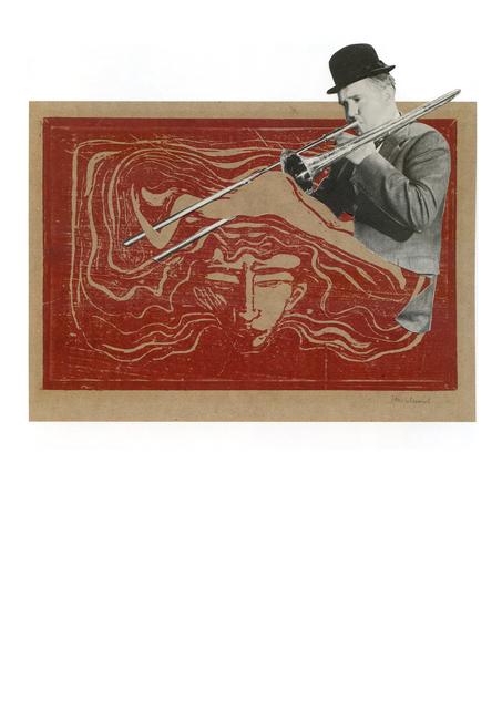 , 'Collage Nr. 500 (Doof/Munch),' 2011, Niklas Schechinger Fine Art.