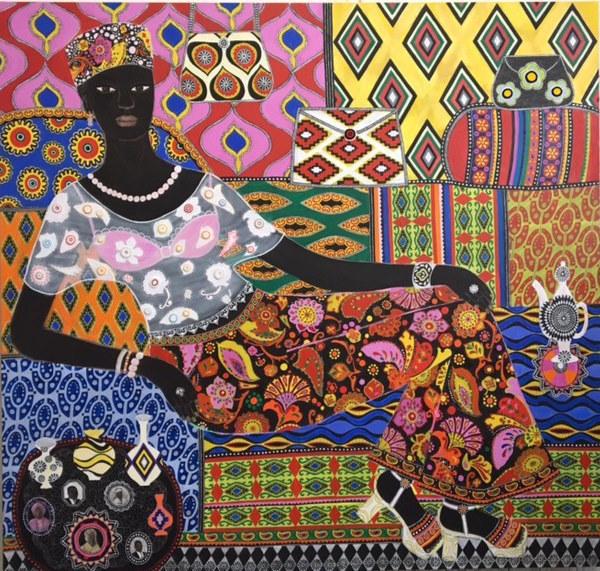 , 'Binoush,' 2017, Rebecca Hossack Art Gallery