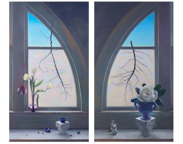 , 'Fragile Spring (Diptych),' 2013, Ro2 Art