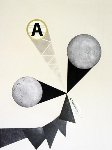 Damir Očko, 'Untitled #1 (The Moon Scores), ', 2011, Galerie Michaela Stock