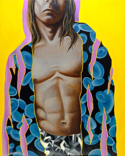 Manzur Kargar, 'Saint Iggy', 2018, Isabella Garrucho Fine Art