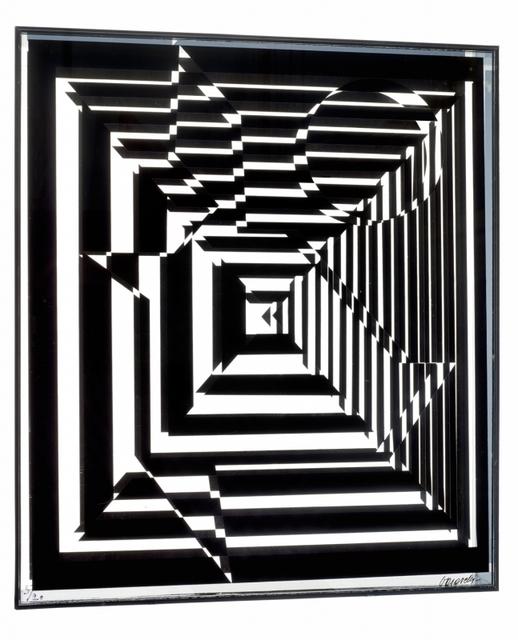 Victor Vasarely, 'Yablapur', 1960, Kunzt Gallery