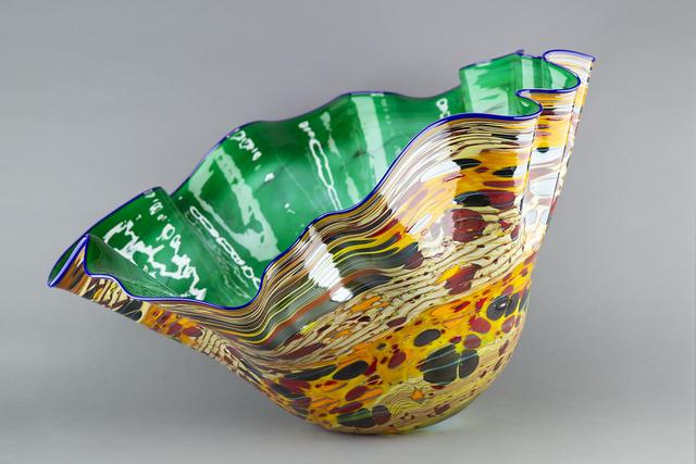 Dale Chihuly, 'Emerald Macchia with Indigo Lip', 2000, Modern Artifact
