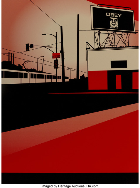 Shepard Fairey (OBEY), 'SD Billboard, from Billboard Series', 2011, Heritage Auctions