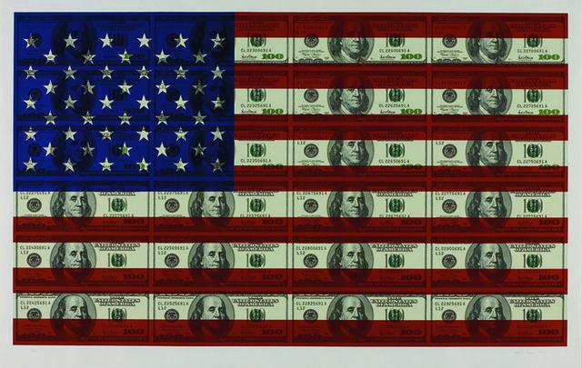 , '$100 US Flag,' 2004, Vertu Fine Art