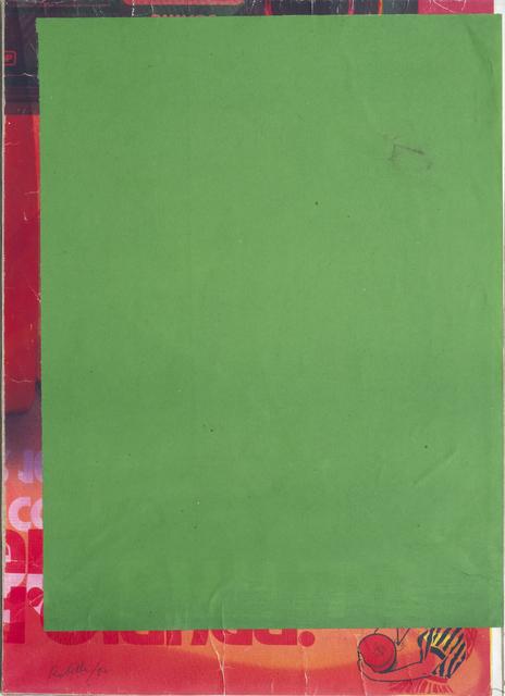 , 'Blank demi frame,' 1980, CARDI GALLERY