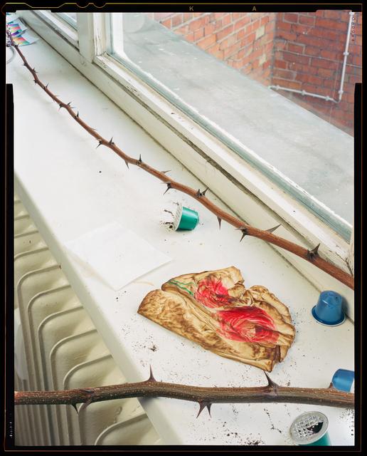 , 'Rose Napkin,' 2017, galerie frank elbaz