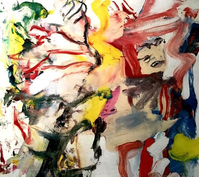 Willem de Kooning, 'Figures in a Landscape 1980', 1980, Kings Wood Art