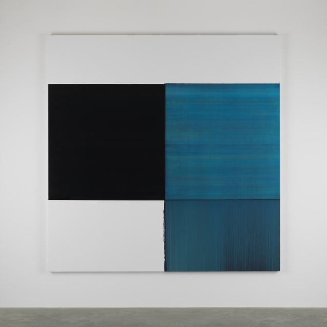 , 'Exposed Painting Phthalocyanine Blue Lake,' 2014, Frith Street Gallery