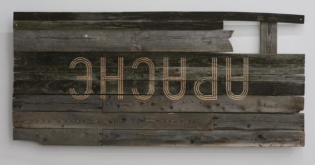 , 'APACHE,' 2016, David Risley Gallery