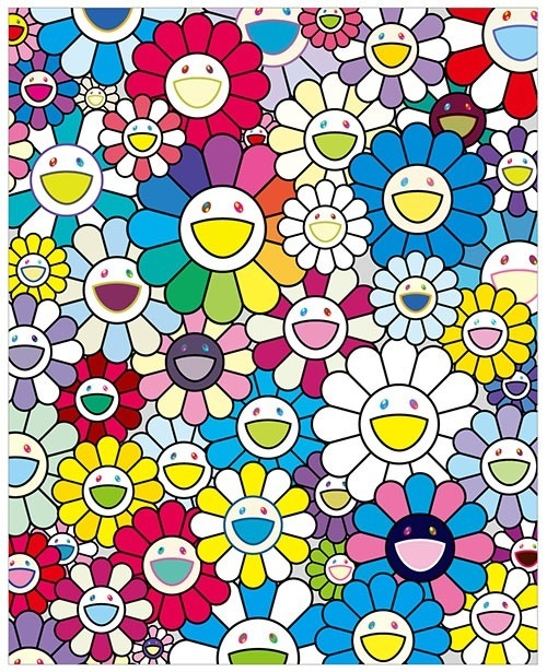 Takashi Murakami, 'Flowers on the Island Closest to Heaven', 2018, Artsnap