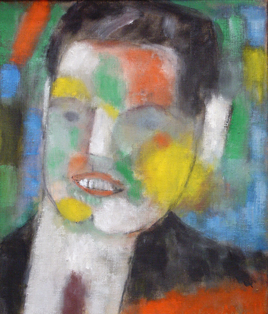 , 'Portrait of Eugene Bernald,' ca. 1958, Bookstein Projects