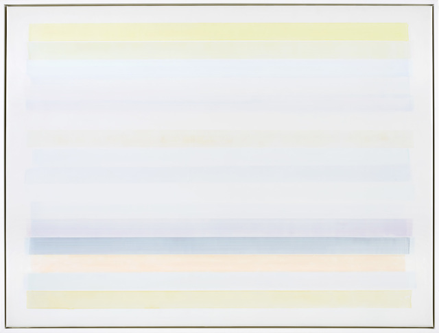 Mike Solomon, 'Native Shore #8', 2020, Painting, Acrylic on polyester films on panel, Berry Campbell Gallery