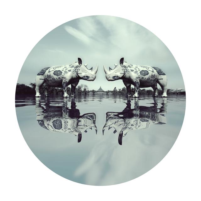 Liu Ren, 'US - Rhinoceros in Love', 2012, Art+ Shanghai Gallery
