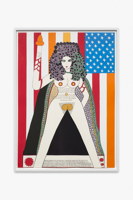 Dorothy Iannone, 'The Statue of Liberty', 1977, Peres Projects