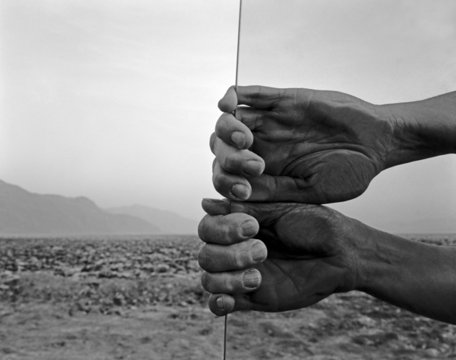 , 'My Hands, Death Valley,' 1980, de Young Museum